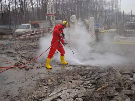 гидравлическая система разрушения бетона