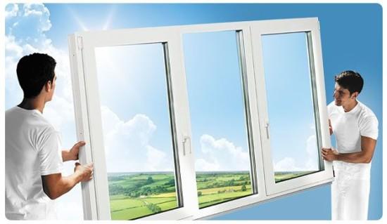 Установить пластиковые окн