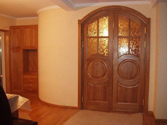 Межкомнатные двустворчатые двери