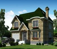 Оформление фасада дома