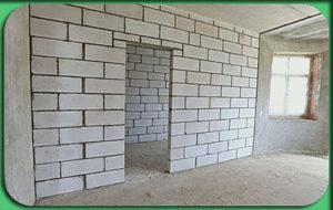 Возведение стен и перегородок в Минске