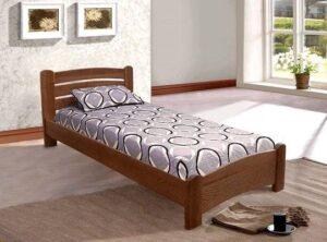 Преимущества односпальных кроватей из дерева