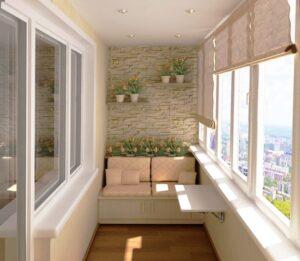 Преимущества ремонта балконов и лоджий под ключ