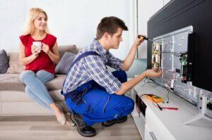 Срочный ремонт телевизоров на дому