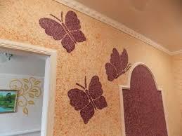 Окрашивание стен с блестящим эффектом